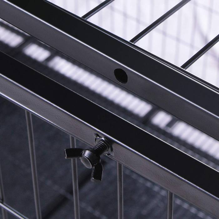 A detail of connection of frame.