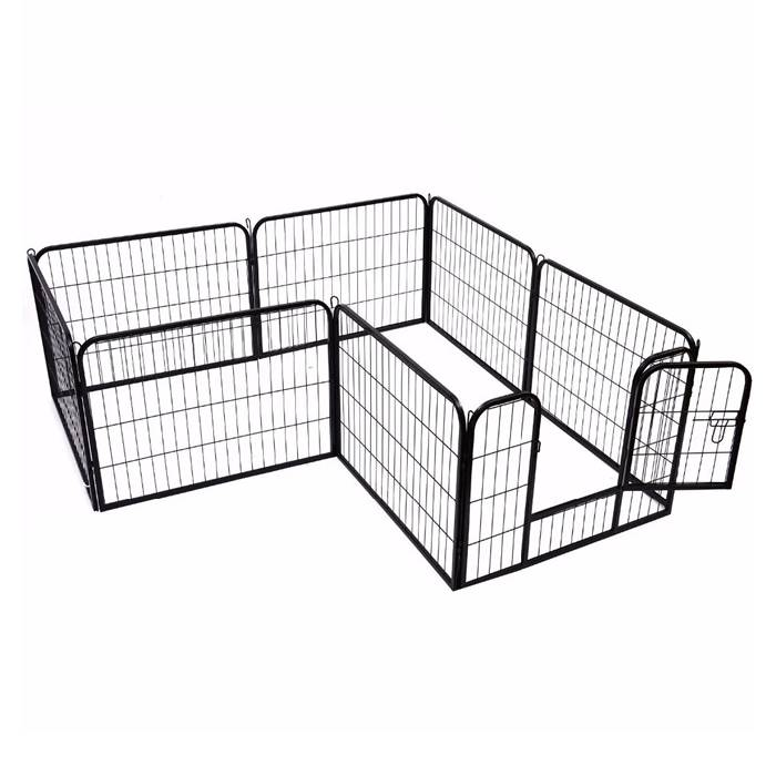 heavy duty exercise pens  u2013 tube frame  u0026 mesh panel secure your pets
