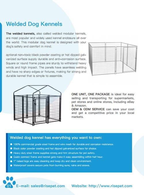 Full Catalog & Installation Tips of Dog Kennels, Crates & Exercise Pens