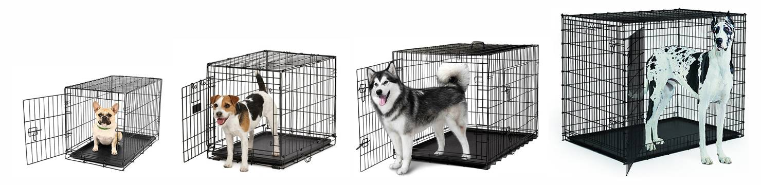 Wire Dog Crates X Small To Xx Large For Training And Storing
